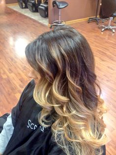 Nicole's balayage ombré, Used scruples color