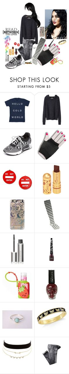 """""""Blake Gutierrez 4"""" by stockmon ❤ liked on Polyvore featuring T By Alexander Wang, Ash, Forum Novelties, Moschino, Casetify, Angie, Givenchy, Kat Von D, Simple Pleasures and Hot Topic"""