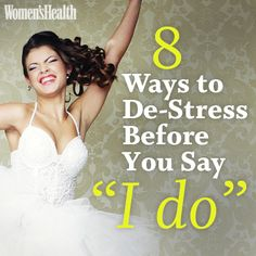 """Getting married? Every bride needs THESE tips on ow to de-stress before saying """"I do""""!"""