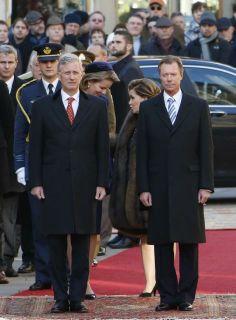 grand duc Henri  du Luxembourg et marie Teresa du Luxembourg