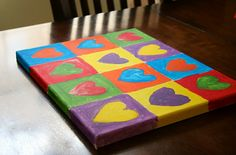 Complementary Colors: Great Valentine's project!