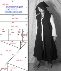 Pattern: Sleeveless Cloak/Duster