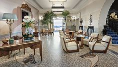 ✈ The official site of private sales on extraordinary hotels & voyages. Antibes, Juan Les Pins, Table Settings, Table Decorations, Luxury, Inspiration, Furniture, France, Home Decor