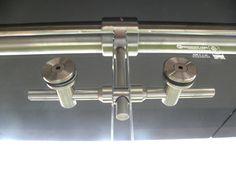 Accesorio en acero inoxidable (punto doble con anillo)