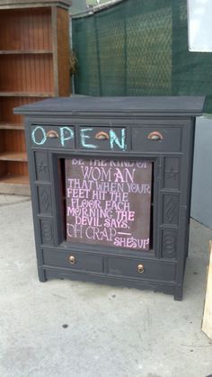 I LOVE this! Seen outside a furniture store in Culver City, CA