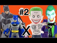 Batman X Coringa Joker DC Comics Imaginext Lego Esquadrão Suicida Suicid...
