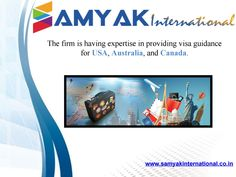 Samyak International, the best visa consultants & Visa Services in India. We offer free Student Visa Consultant for Canada in Delhi. Our main aim is to guide students about all the courses that are available to them in these countries and also how to apply for them. For more information visit - http://www.samyakinternational.co.in/study-canada.html and contact to us @ 9873946656.