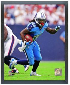"""Chris Johnson 2013 Tennessee Titans - 11"""" x 14"""" Photo in a Glassless Frame"""