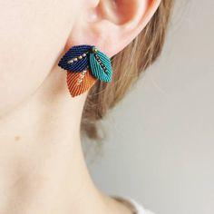 Fabric Earrings, Macrame Earrings, Macrame Bag, Micro Macrame, Macrame Jewelry, Macrame Bracelets, Diy Earrings, Macrame Bracelet Tutorial, Diy Fashion Projects