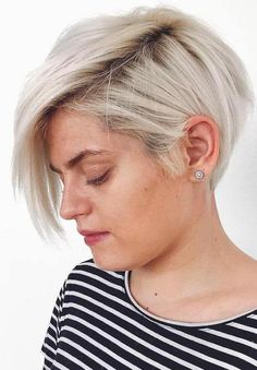 Short Blonde Hairstyles and Haircuts 2017 for Women - Styles Art