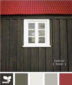 rustic palette