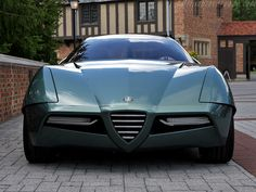 B.A.T. 11 is the name of one of the most amazing Alfa Romeo concept cars!