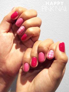 Checkered nail