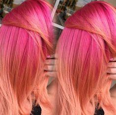 Pink Coral hair melt