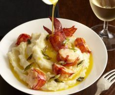 This wonderful Lobster Mashed Potato recipe would work wonderfully with the flavor and texture of our Argentine Red Shrimp.