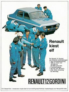 Old car ads from magazines & newspapers - Page 41 - General Gassing - PistonHeads Renault Nissan, Alpine Renault, Renault Sport, Classic Motors, Classic Cars, Sport En France, Car Posters, Car Advertising, Rally Car
