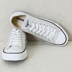 light grey Converse All Stars