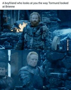 Game of thrones funny Brienne and Tormund