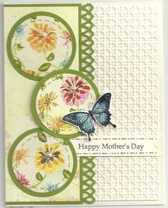blue butterfly case for Mom by happy-stamper - Cards and Paper Crafts at Splitcoaststampers