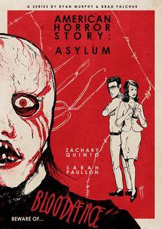 American Horror Story : Asylum (vintage inspired) By Roberto Sánchez on Behance
