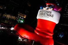 MIDTOWN CHRISTMAS Big Santa boots by HAMACHI!, via Flickr Tokyo Midtown, Santa Boots, Christmas Stockings, Holiday Decor, Big, Needlepoint Christmas Stockings, Christmas Leggings, Stockings