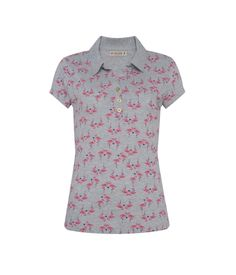 Blusa Flamingos