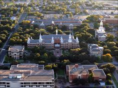 Baylor Campus - where I developed my love of social work, met my best friends, and during my time there met my husband at church. <3 it!