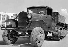 1938: ГАЗ-60 - Полугусеничный грузовик-вездеход