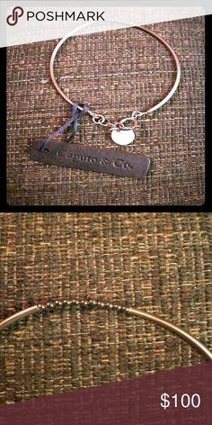 Caputo & Co mens bracelet antique silver tone Metal tone beads antique silver tone .925 authentic Caputo & Co  Accessories Jewelry