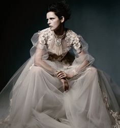 f-l-e-u-r-d-e-l-y-s:    Dream Weavers| Stella Tennant by Daniel Jackson for WSJ May 2012!