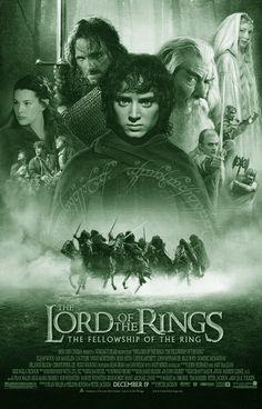 LORD OF THE RINGS * FELLOWSHIP OF THE RING: Het eerste deel van Peter Jacksons filmtrilogie The Lord of the Rings, gebaseerd op J.R.R. Tolkiens gelijknamige bestseller. In 2002 genomineerd voor 13 Oscars en won er uiteindelijk 4. Het verhaal vertelt over de hobbit Frodo Balings, die een magische ring moet vernietigen voordat de duistere Sauron hem terugvindt. De film ging op 19 december 2001 in première.