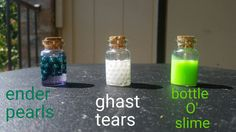 MineCraft Potions by MKcraftsandcreations on Etsy