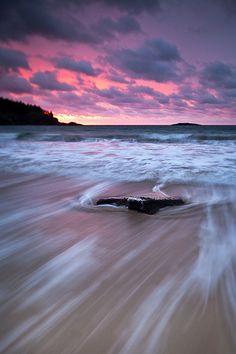 Good Morning - Sand Beach, Acadia National Park, Maine