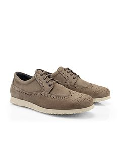 #HOGAN Men's Spring - Summer 2013 #collection: split leather TRADITIONAL #shoes.