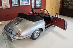 This 1963 Porsche 356B 1600S Cabriolet was driven regularly until being cosmetically restored in the early 2000s. Purchased by the current owner in 2015, the car is powered by its original 1600cc flat-four and 4-speed manual. The restoration was performed by Burke Fabrication in Seattle and included