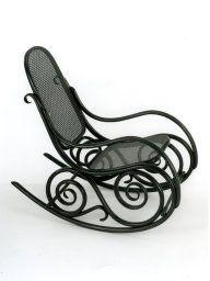Austria. Designed by Michael Thonet. Manufactured by Gebrüder Thonet. Rocking Chair, c. 1881. Restricted gift of Mrs. Samuel G. Rautbord.
