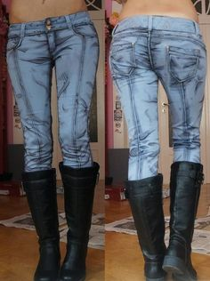 Pin for Later: Why Yes, These Comic-Book Jeans Are Real
