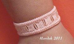 Romanian Point Lace bracelet
