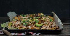 Nachos de dindon à la sauce ranch, à l'expresso et au chipotle