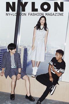 PHOTOS: Jaden Smith, Kim Yoo Jung, and Yeo Jin Goo Pose for NYLON