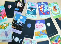 This double-sided deck brings alive animal guides, moon phase divination, storytelling, and ritual. This is an expansive and colourful oracle deck and book unlike any other!