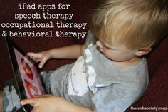 iPad apps for speech therapy, occupational therapy, and behavioral therapy - The MOB Society
