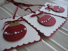 Want to know more about Handmade Gifts Homemade Christmas Cards, Christmas Gift Wrapping, Diy Christmas Gifts, Handmade Christmas, Holiday Cards, Christmas Crafts, Christmas Ornaments, Christmas Christmas, Christmas Tables