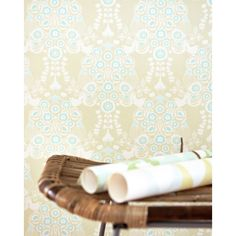Estelle Wallpaper by Majvillan | Available from www.wallpaperantics.com.au