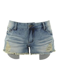 Pin it to win it! #rushthestage - Midwash Raw Edge Hotpants at @Internacionale