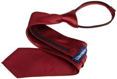 Wembley Men's Solid Zipper Tie