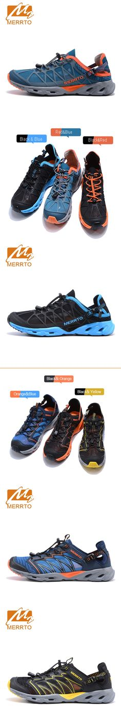 bf0e6414808ca1 MERRTO Brand 2017 Summer running shoes outdoor stability lace-up  comfortable sport for Men hot sale