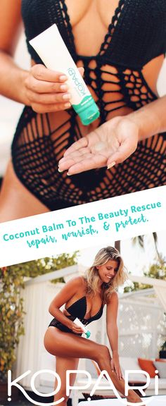 This do-it-all salve is infused with cocoa seed butter to repair, nourish and protect. Our Coconut Balm soothes skin after sun and delivers maximum hydration.Take coconut oil to the next level and moisturize like a boss. Visit KopariBeauty.com to see more.