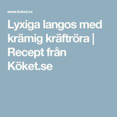 Lyxiga langos med krämig kräftröra | Recept från Köket.se