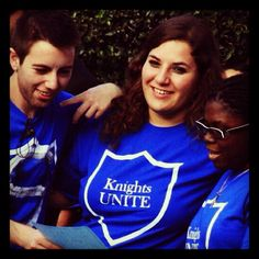 Students of #lynnuniversity during Knights Unite Day of Caring!